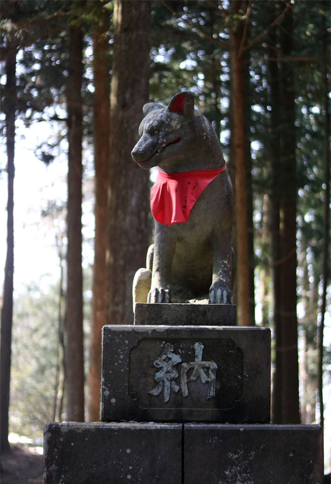 三峰神社オオカミ