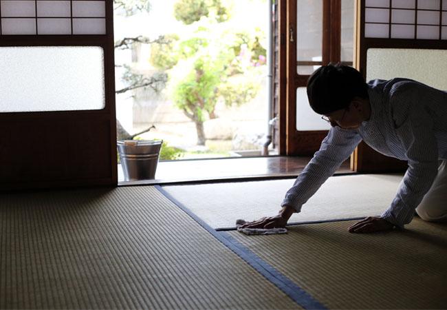 新居の畳のカビ防止
