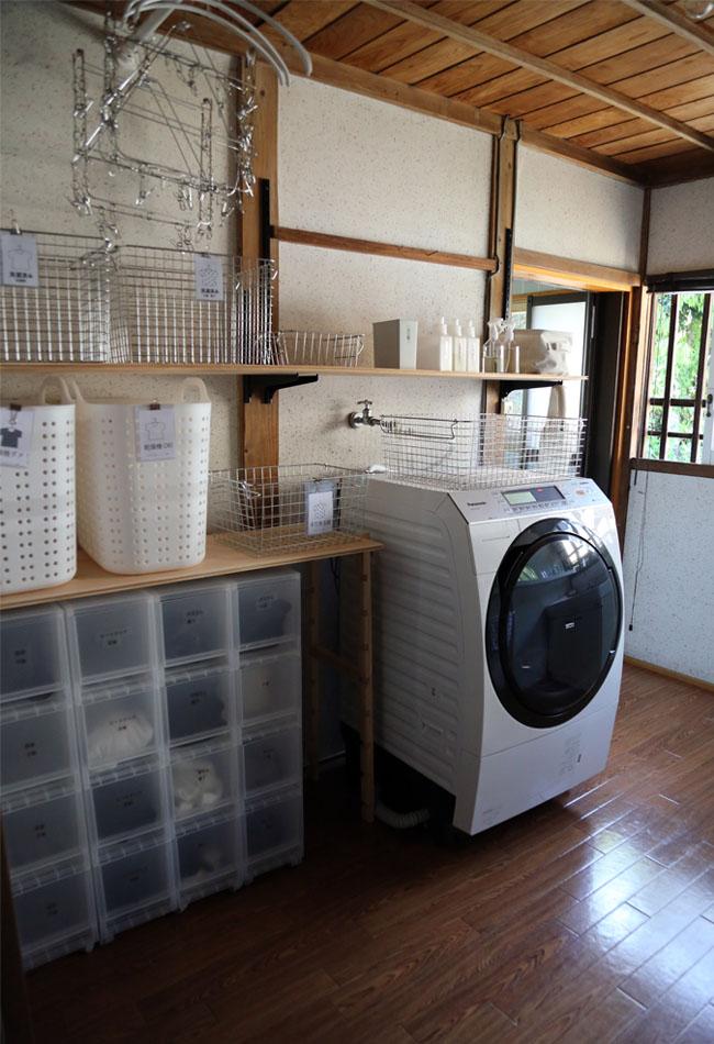 洗面脱衣所の片付けやすい収納のポイント