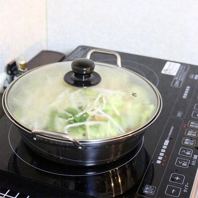 我が家の時短鍋