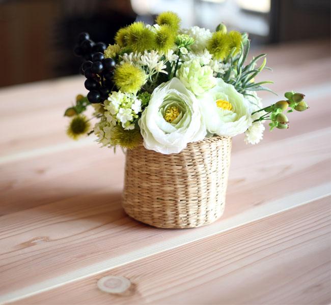 100円ショップの材料で作る花の日ギフト