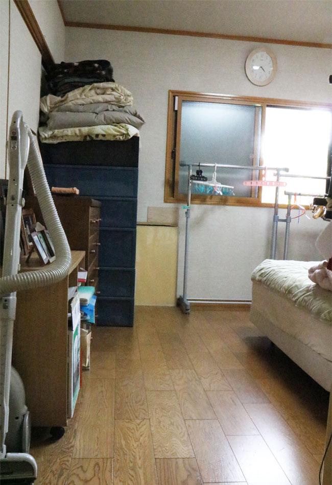 寝室片付けアフター
