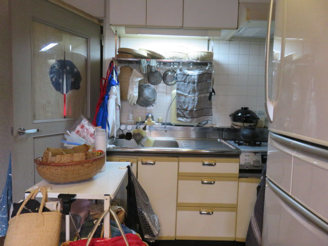 キッチンの整理収納サービス