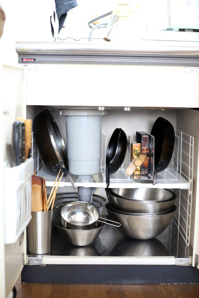 キッチンのシンク下整理収納サービスアフター