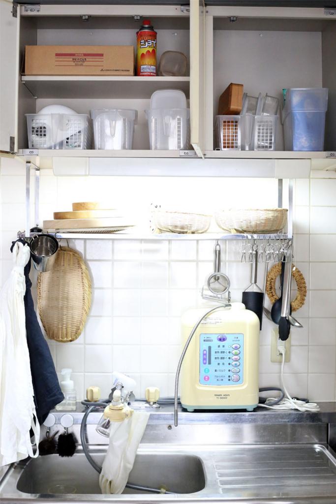 キッチン吊り棚整理収納サービスアフター