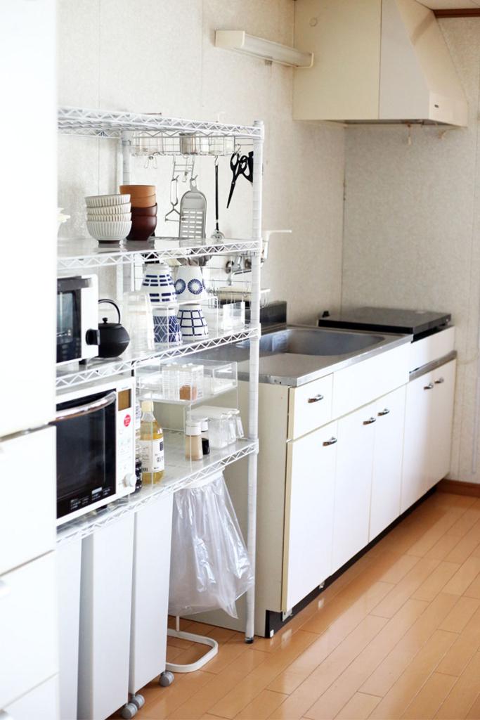 キッチンのと菜箸やヘラの整理収納