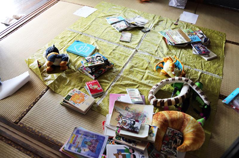 子供部屋の整理整頓