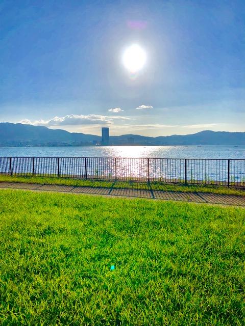 びわ湖景観