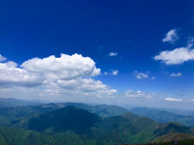 伊吹山からの景観