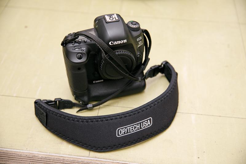 OP/TECHカメラストラップ