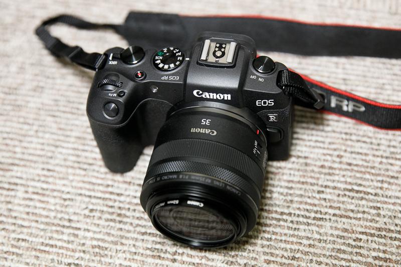 CANON EOS RP 高感度画質