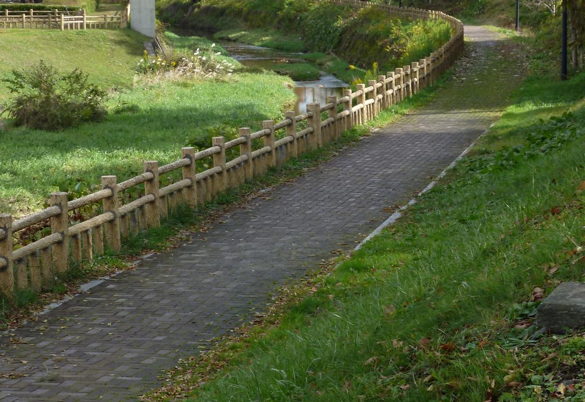 木漏れ日の遊歩道