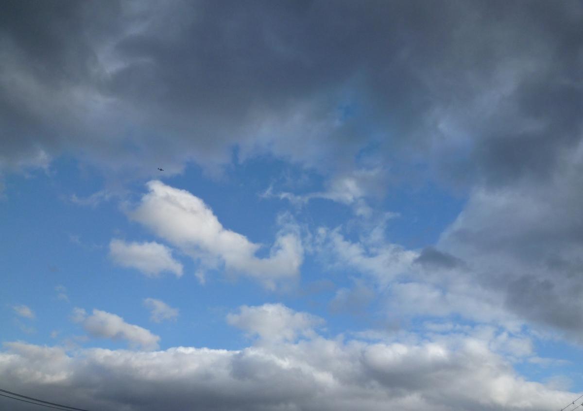 初冬の雲の美しさ
