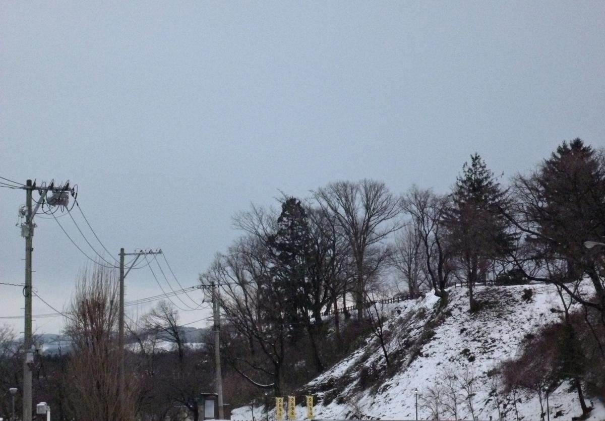 雪の少ない冬