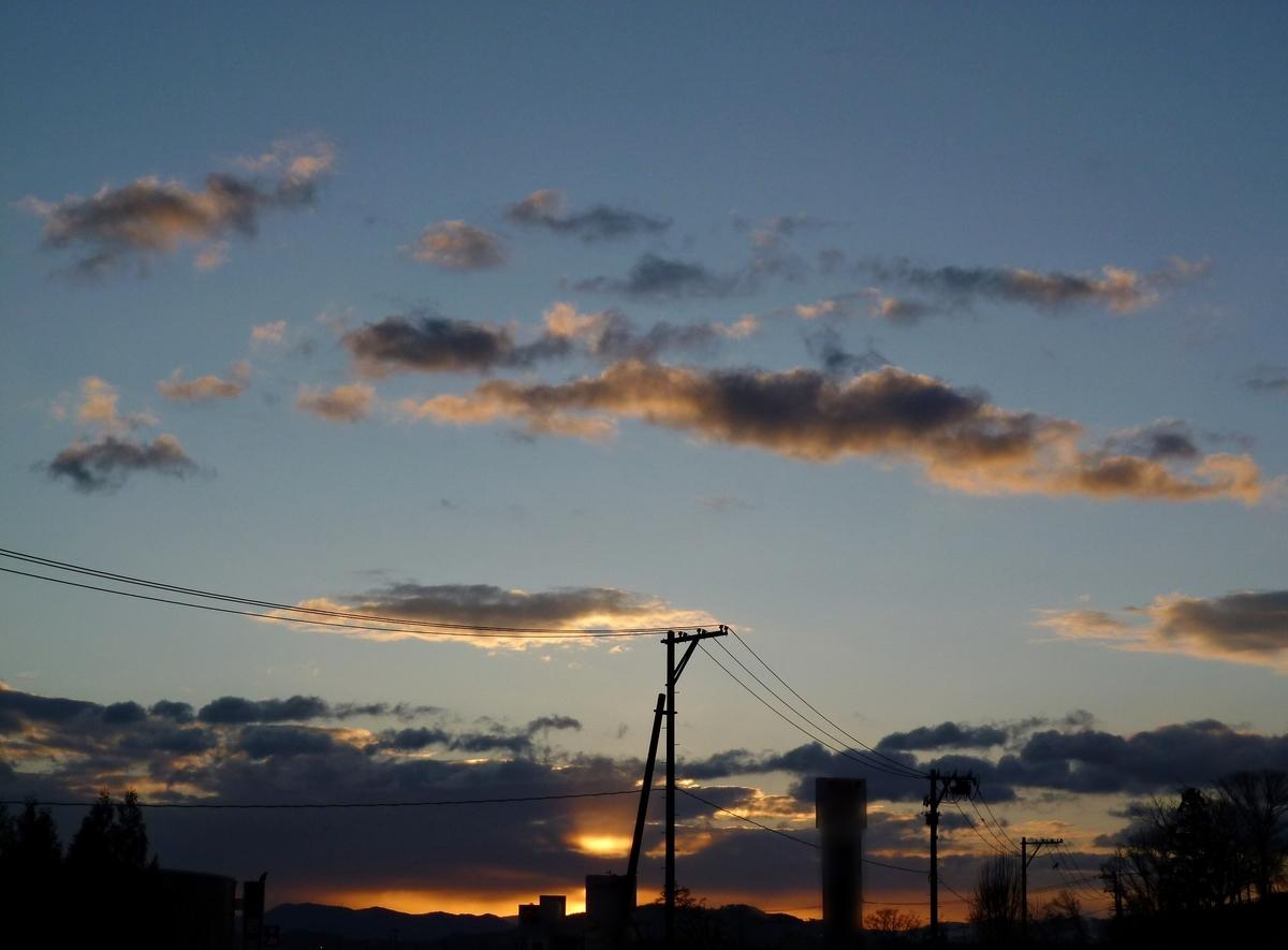 朝焼け 画像 雲 空