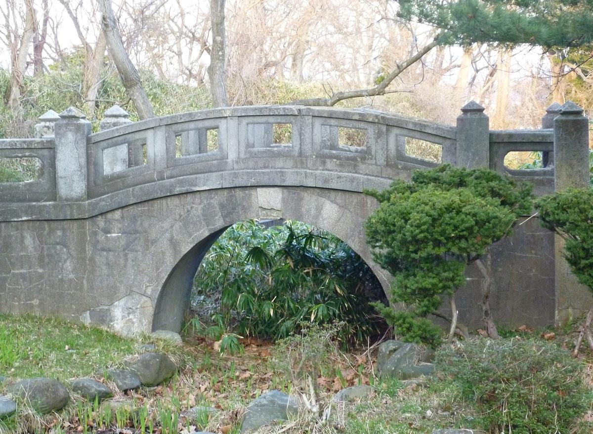 庭園 石の橋