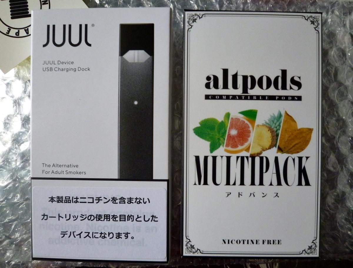 電子タバコ JUUL レビュー