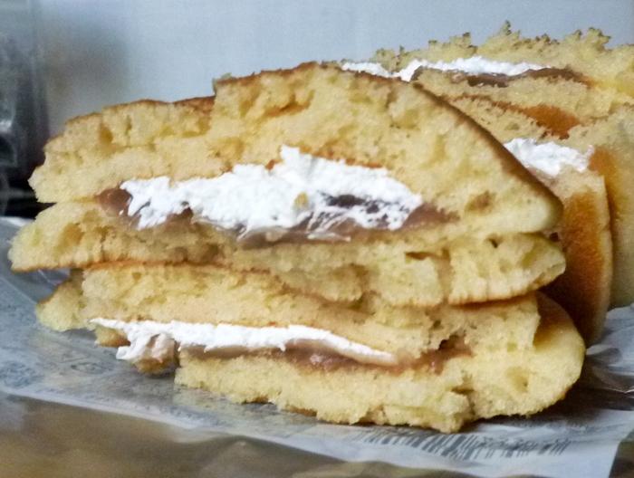 イタリアマロンのパンケーキ