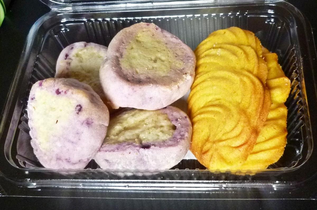 さつまいも かぼちゃのソフトクッキー