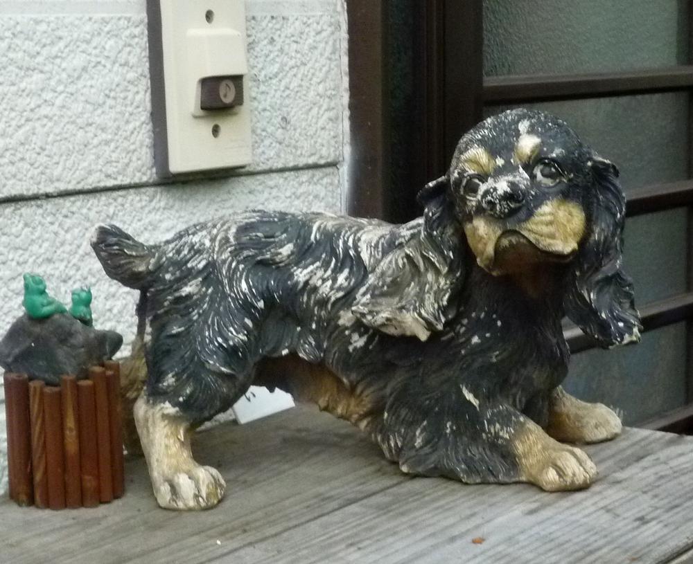 うちの番犬(置物)