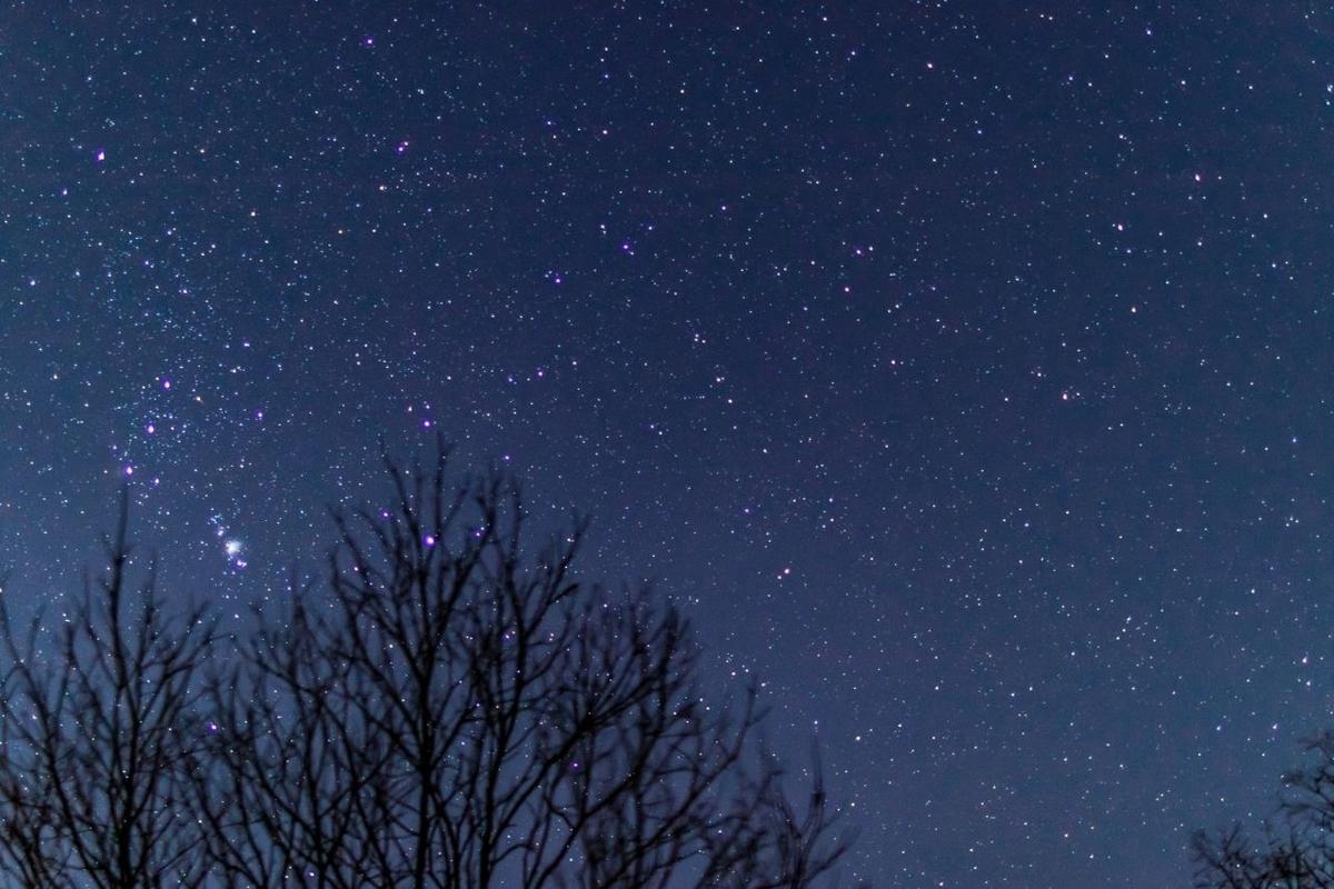 冬の星空のフリー素材 https://www.pakutaso.com/20200903255post-30832.html