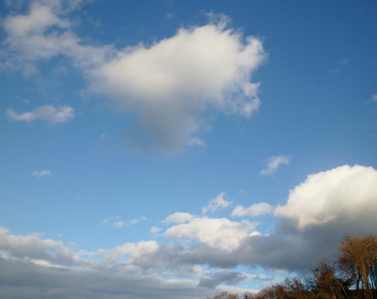 12月9日の空