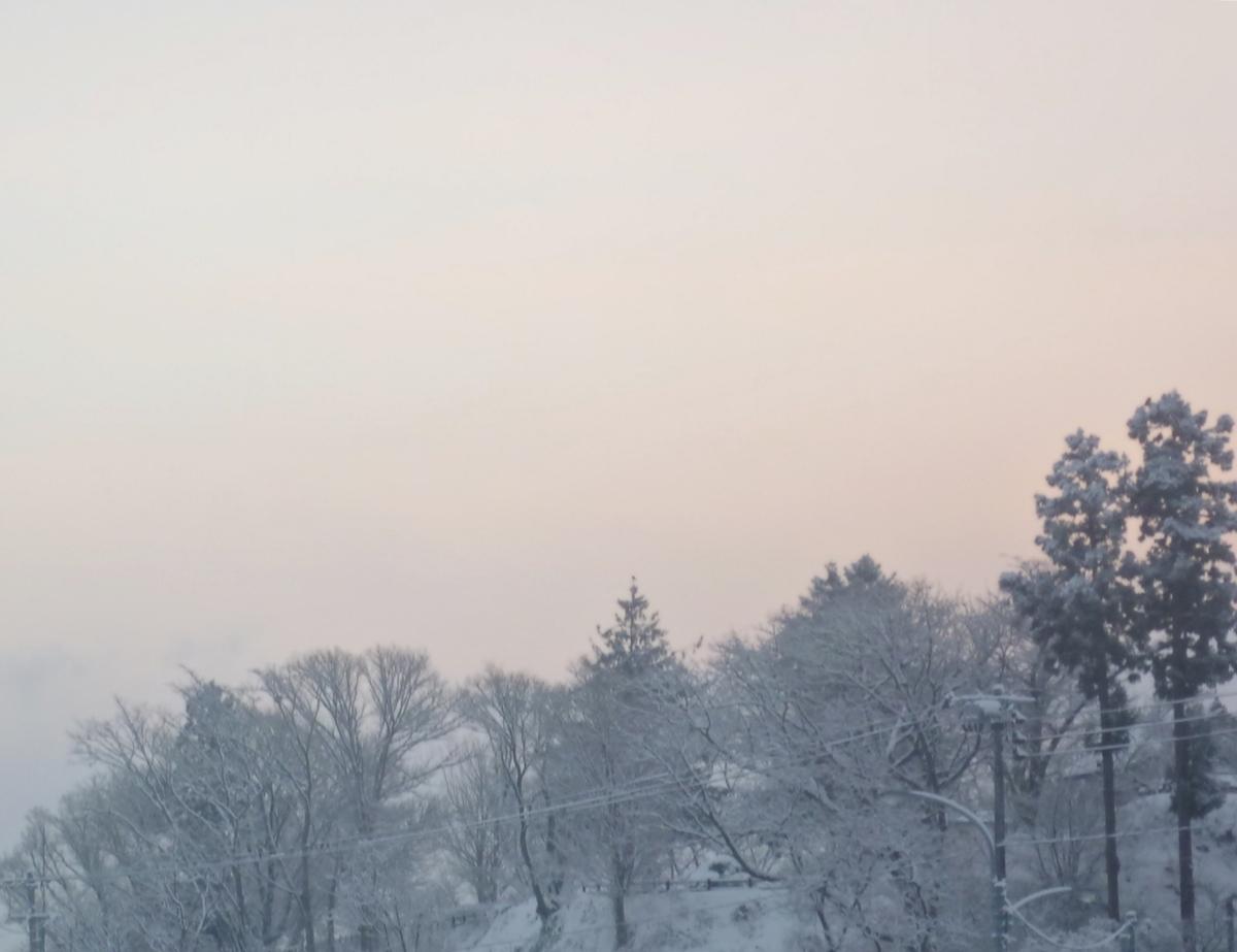 新年の空模様