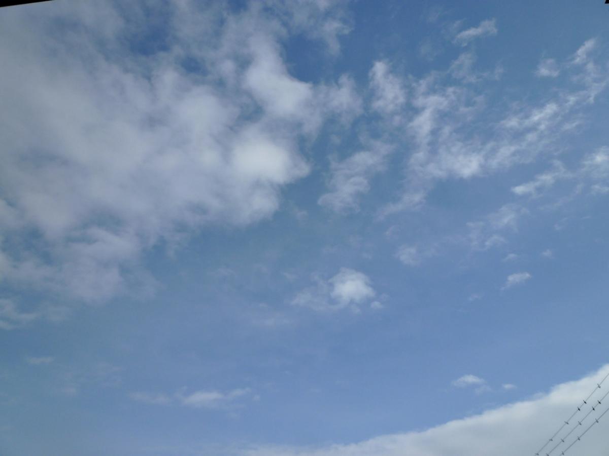1月18日の空