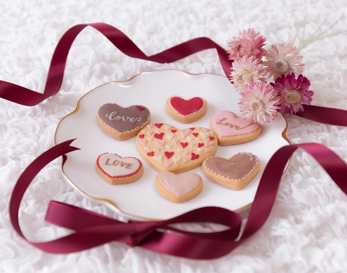バレンタインデー クッキー チョコ