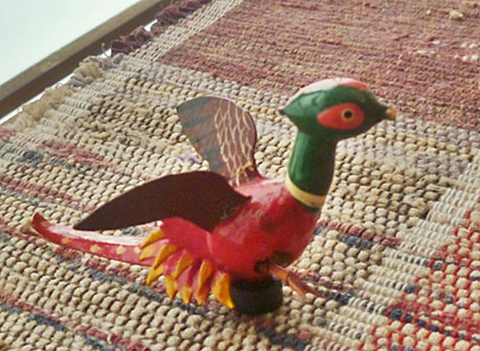 鳥の飾り物
