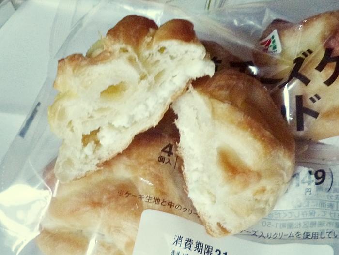 セブン 北海道チーズケーキブレッド 4個入