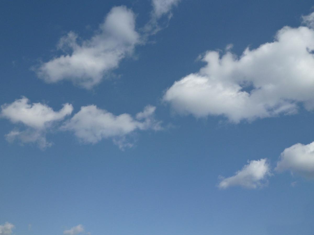 4月15日の空