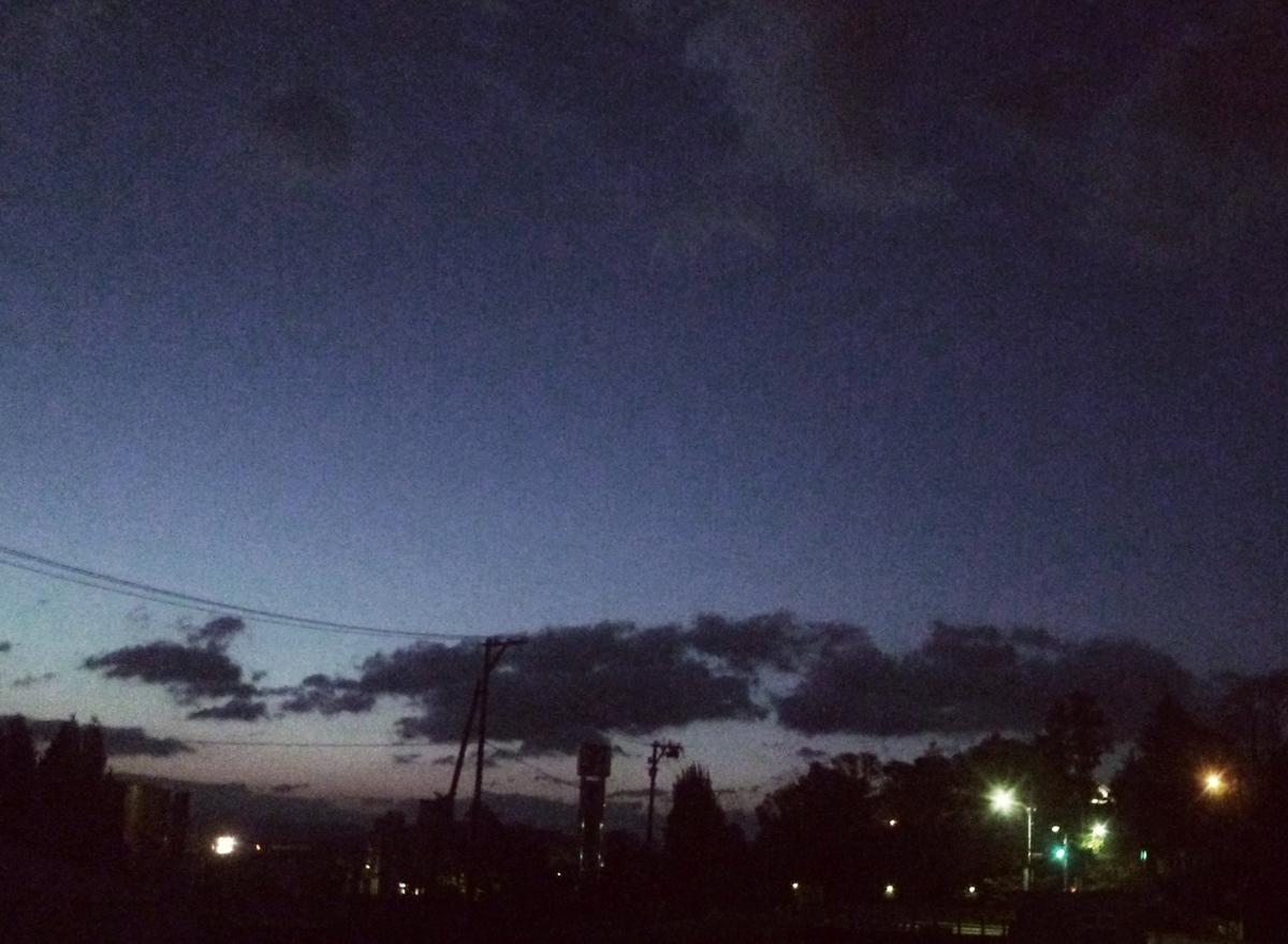 京の夜明け前