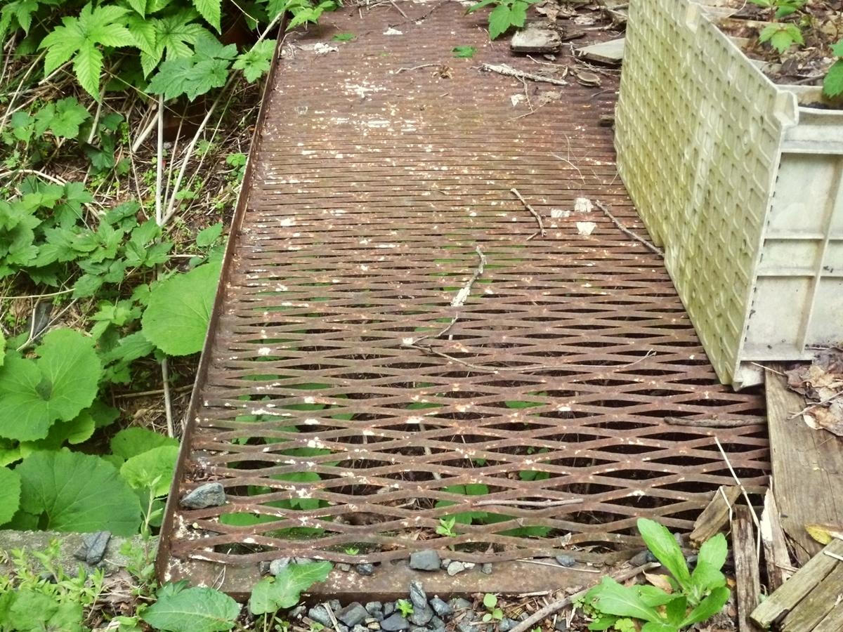 裏庭への橋