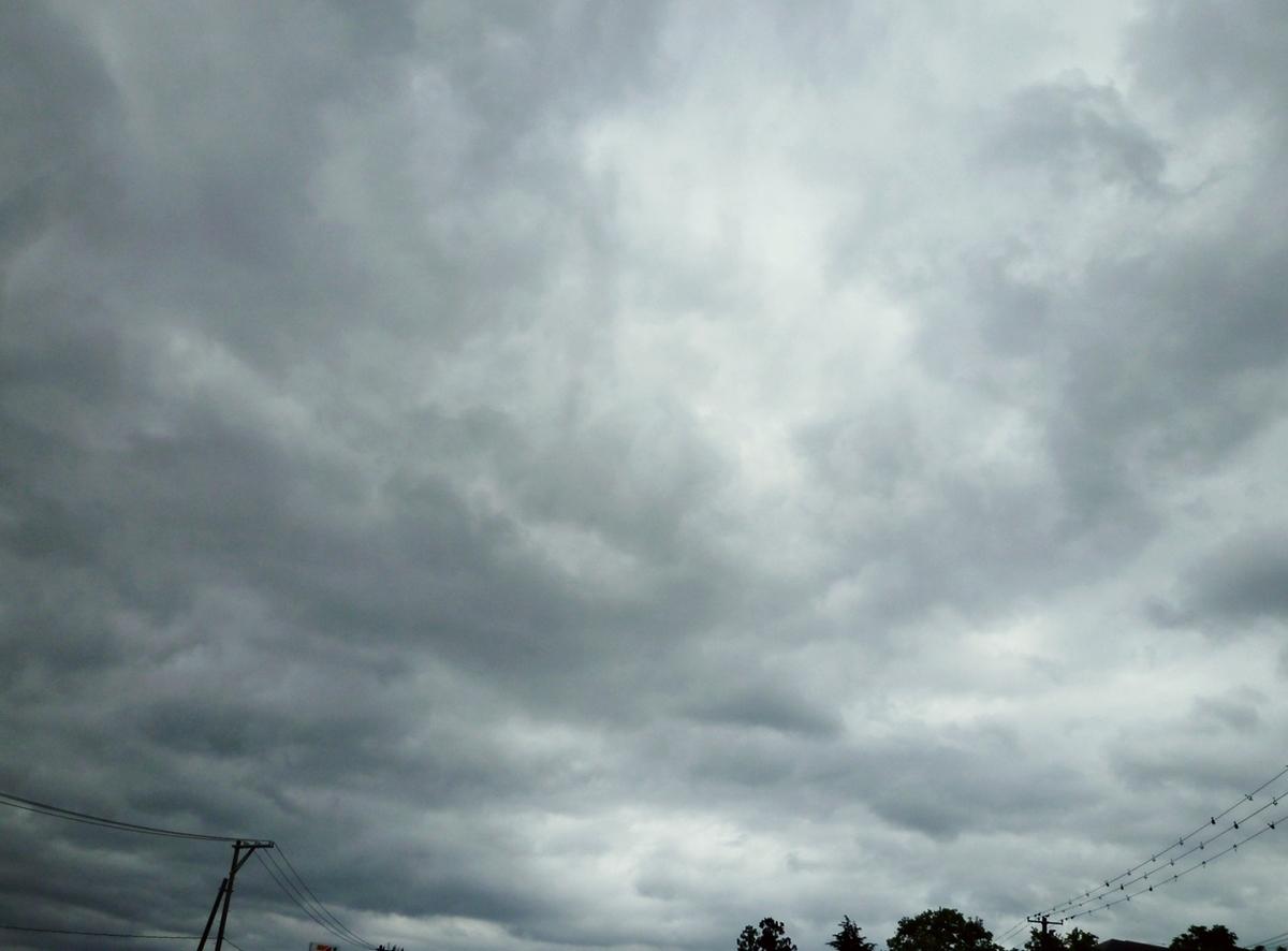 午前中の空