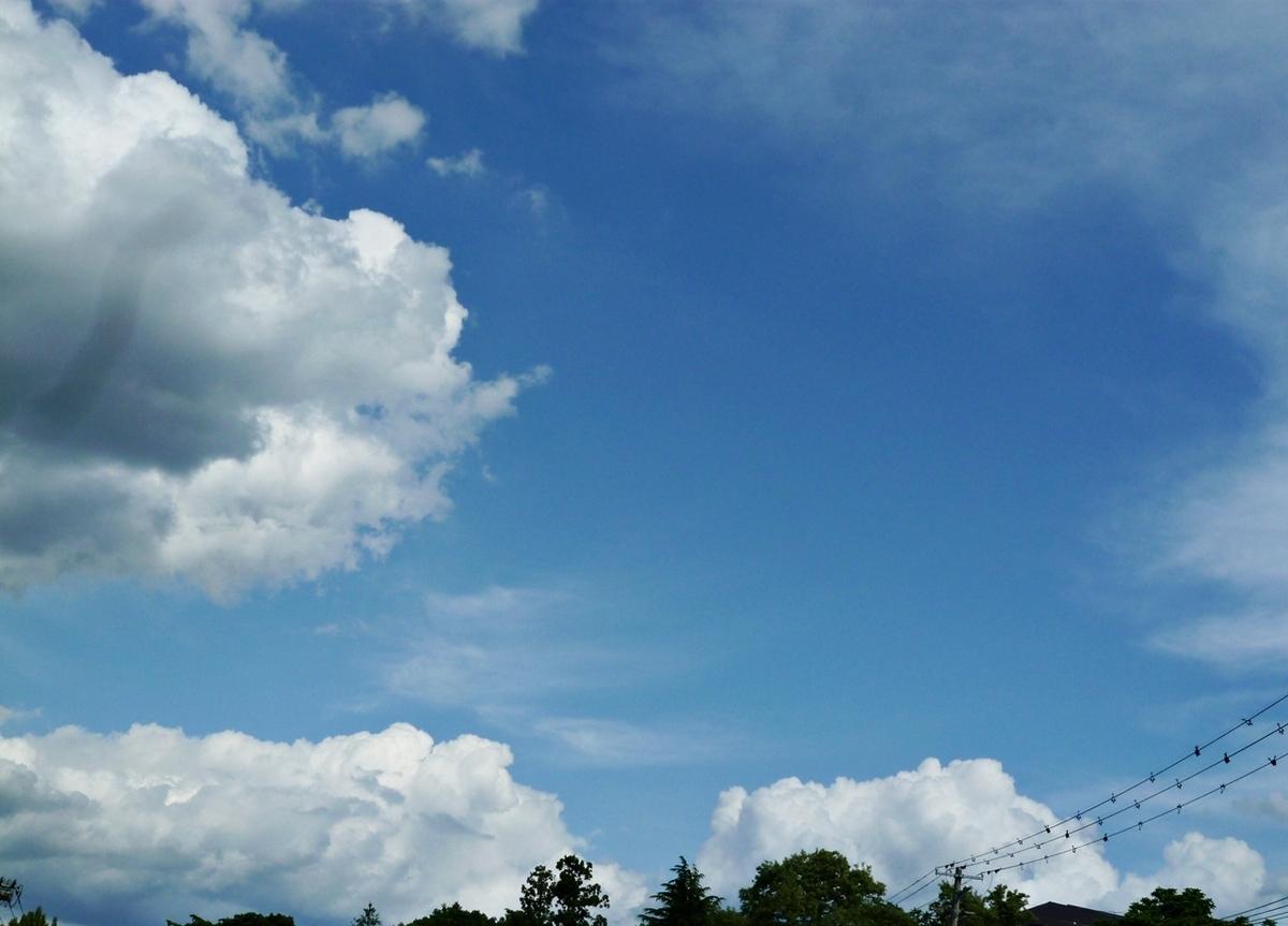 夏っぽい空