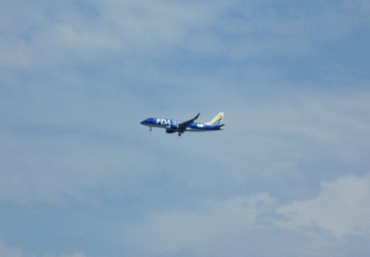FDA 旅客機 着陸