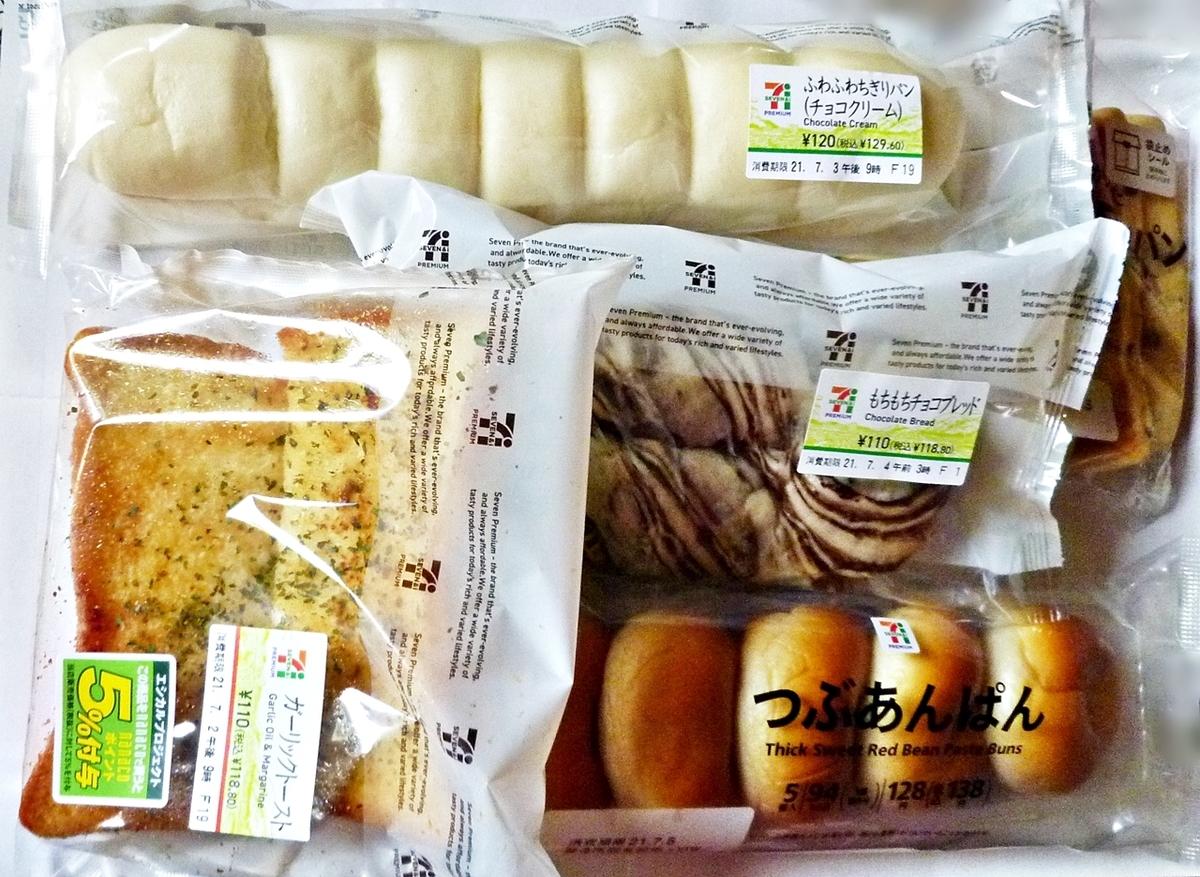 スイーツレビュー 総菜パン セブン ヤマザキ