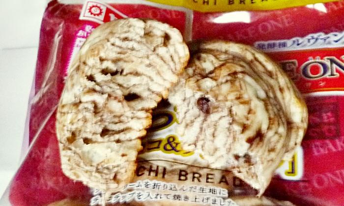 ヤマザキ もっちパン チョコ&チョコチップ 4個入 レビュー