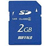 BUFFALO SDカード スタンダードモデル 2GB RSDC-S2GC4