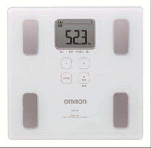 OMRON 体重体組成計 Karada Scan214 HBF-214-W ホワイト HBF-214-W