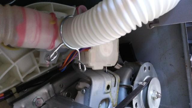 洗濯機の排水ホース交換