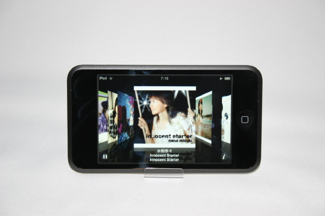 iPod touchのCoverFlow