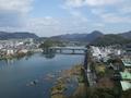 犬山橋方向の風景