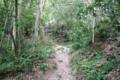 本丸への山道