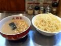 大阪大勝軒のつけ麺中盛