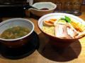 つけ麺龍の白湯つけ麺大盛