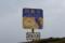 砂浜の標識