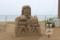 展示されていた砂像