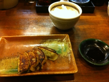 麺乃家の餃子